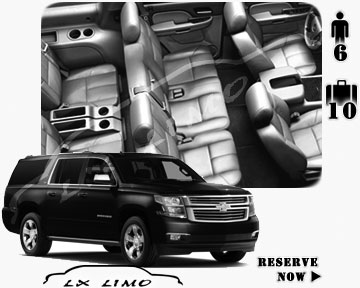 SUV Suburban for hire in Atlanta