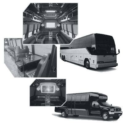 Party Bus rental and Limobus rental in Atlanta, GA